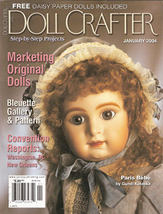 Judith Klawitter Originals http://www.somethingunderthebed.com/CURTAIN/REVIEWSmags/DollCrafter2000s.html