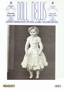Vintage 4 Doll News 1970 Quarterly Magazine United Federation of Doll Clubs