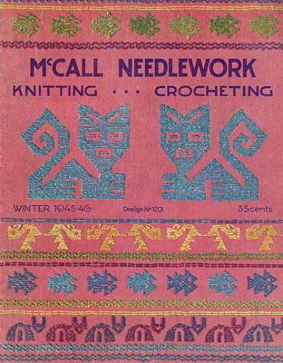 MCCALL'S NEEDLEWORK & CRAFTS Magazine Review