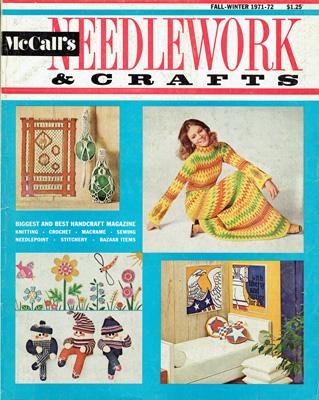 b5bb4b2ce2d MCCALL'S NEEDLEWORK & CRAFTS Magazine Review