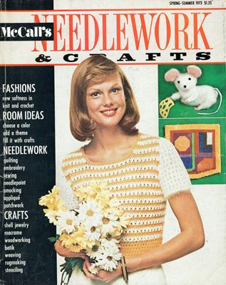 McCall/'s Needlework /& Crafts Magazine April 1987 CR0132
