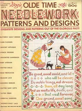 OLDE TIME NEEDLEWORK Magazine Review