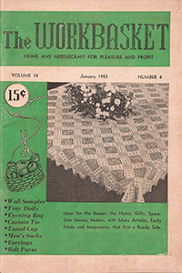 Aunt Martha S Workbasket Magazine 1950 S Review